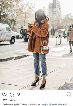 Street Style Inspirartion For 2019 (BeSugar&Spice) - Mode Frauen Winter Outfits Women, Casual Winter Outfits, Stylish Outfits, Spring Outfits, Fashion Casual, Look Fashion, Fashion Outfits, Fall Fashion, Fashion Women
