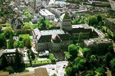 Main building of the University of Zürich