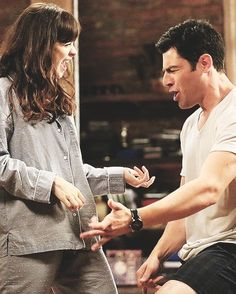 pure, unadulterated friendship ~ I love this show: New Girl Movies Showing, Movies And Tv Shows, New Girl Tv Show, Nick And Jess, New Girl Quotes, Jessica Day, Nick Miller, Tv Land, Zooey Deschanel