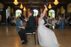 guthrie oklahoma wedding venue - dominion house - wedding shoe game