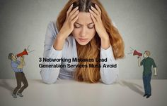 3 Networking Mistake