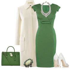 A fashion look from December 2013 featuring Phase Eight dresses, Gucci coats and Jimmy Choo pumps. Browse and shop related looks.
