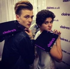 tristan and brad (I love them and I love the shop so.....)