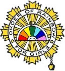 International Order of the Rainbow for Girls! Freemasonry for wee lassies.