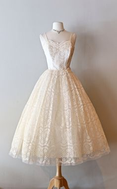 1950s Wedding Dress from Xtabay Vintage