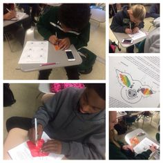 Ear notching fruit roll ups onto the activity worksheet. Central Cabarrus FFA - www.OneLessThing.net