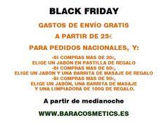 Nuestro #blackfriday está a punto de empezar #baracosmetics #cosmeticanatural