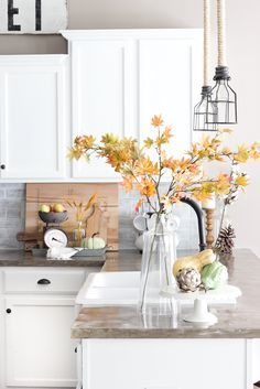 2434 best Home Decor images on Pinterest in 2018   Future house     Fall Home Tour 2016