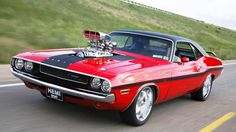 1970 Dodge Challenger R/T - 426 Hemi with a 6-71 Weiand Dyer's Supercharger