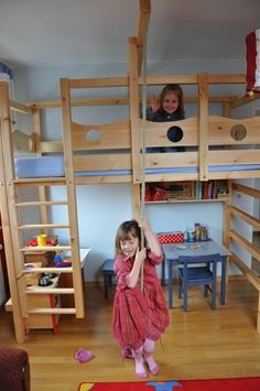 Hochbett Kinderbett Etagenbett Babybett Abenteuerbett Hochbetten Spielbett Piratenbett Umbaubett Kinderzimmer Kindermöbel