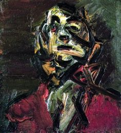 Head of J.Y.M. No. 1 (Frank Auerbach)