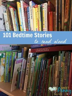 A 3 step bedtime routine for kids - Includes a printable list of 100 bedtime stories for kids. #Read2Me #ad