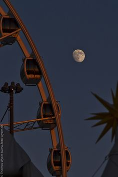 Full moon and Ferris Wheel Scenery Wallpaper, Aesthetic Pastel Wallpaper, Aesthetic Backgrounds, Galaxy Wallpaper, Aesthetic Wallpapers, Wallpaper Backgrounds, Wallpaper Quotes, Screen Wallpaper, Aesthetic Lockscreens