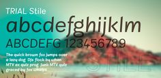 Stile 100 Greatest Free Fonts Collection for 2013 - Awwwards - typefaces, webfonts, free fonts