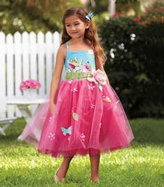 rose tulle butterfly dress - Chasing Fireflies