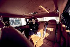 Marie Claire & Rolls-Royce with Dana Wolley-Zayat, Photographer: Adam Black, Video: Daniel Tudano / MMG Artists, Stylist: Stuart Robertson, Makeup Artist: Bianca Hartkopf / MMG Artists, Model: Dana Wolley-Zayat / photo shoot, photo session, fashion, Rolls-Royce, Rolls-Royce Phantom, new Rolls-Royce, Phantom, car, carporn, luxury car, beautiful, posing, woman, classy, model, blogger, handbag, leather, brown, car seat, interior, spacious, light, warm colors