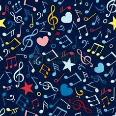 Illustration about An illustration of colorful music notes. Illustration of colours, color, musical - 15888072 Pop Art Wallpaper, Pattern Wallpaper, Iphone Wallpaper, Paper Background, Background Patterns, Music Doodle, Music Symbols, Printable Paper, Music Notes