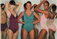 MODEL...??,BARBARA MINTY & BEVERLY JOHNSON Danskins  1976