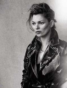Kate Moss by Peter Lindbergh for Vogue Italia