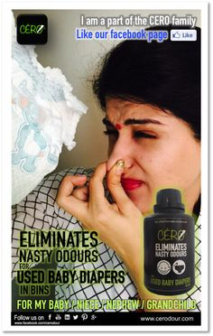 #Cero a Unique #Powder to #Eliminate #Remove #Stink , #Nasty #Odour , #Smell from #Used #Adult #Diapers   #Bio #Medical #Waste   Used #Baby Diapers   Used #Sanitary #Napkins   #Kitchen #Waste   #Pet #Litter from #Dustbins #Pails #Bins www.cerodour.com