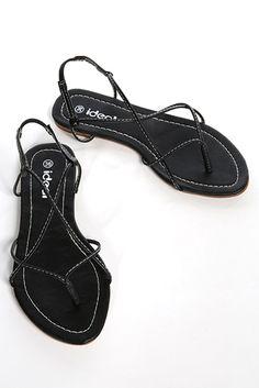 6ddd327138e3 Thin Straps Toe Post Sandals