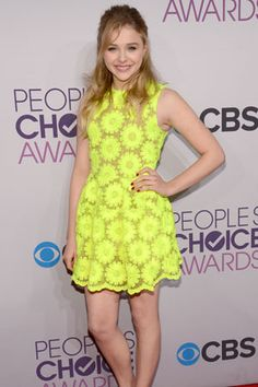 Chloe Moretz at the People's Choice Awards