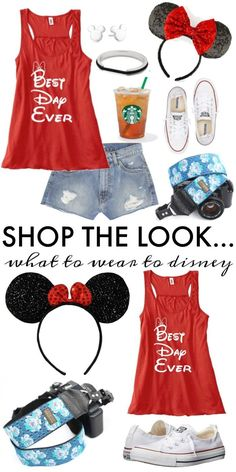 Frugal Fashion Friday Disney Outfit on Frugal Coupon Living. What to wear to Disney World. Disney outfit for her.