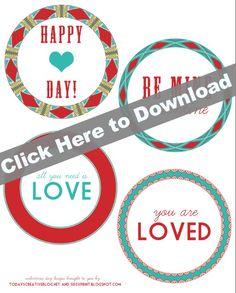 Printable Valentine Tags | TodaysCreativeBlog.net