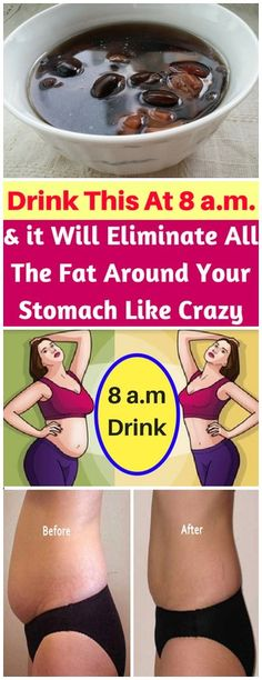 DRINK THIS AT 8 O& And it will eliminate all the fat around your stomach like crazy Reduce Belly Fat, Lose Belly Fat, Slim Belly, Weight Loss Program, Weight Loss Tips, Losing Weight, Gm Diet, Strict Diet, Fat Burning Detox Drinks