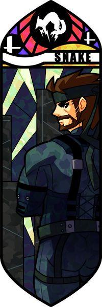 SSB - Snake by Quas-quas on DeviantArt