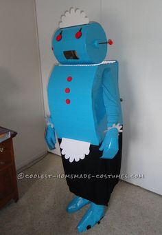 Original Rosie the Robot Halloween Costume... This website is the Pinterest of costumes