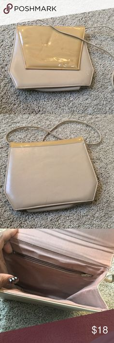 Designer Leather Clutch Shoulder Bag This purse is in VERY good condition. I would love to bundle to save you on shipping  No free shipping, no trades, no holds.  Please check out my closet for many tantalizing goodies. Bags Clutches & Wristlets
