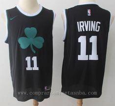 6be4daa7844f NBA nike Swingman stitched negro kyrie irving Boston Celtics 2018 Marca   nike Equipos  Boston Celtics Jugador  kyrie irving Adecuado para  Hombre  Estilo  ...