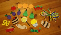 make your own felt boards and felt pieces- so easy and fun!