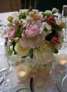 calla - hortensia - pivoine - rose