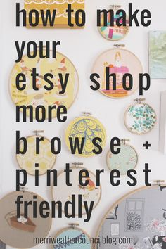 How to Make your Etsy Shop more Pin + Browse Friendly – Shop Ideas – Business Ideas Etsy Business, Craft Business, Creative Business, Business Tips, Business Marketing, Media Marketing, Online Marketing, Online Business, Etsy Seo