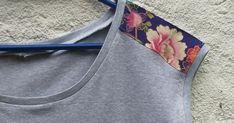 ¿Te atreves a alegrar una camiseta con un bolsillo de origami? Esta es la propuesta de Laura Martínez, de PeSeTa.  Este es mi pr...