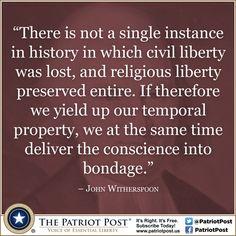 Liberty — The Patriot Post