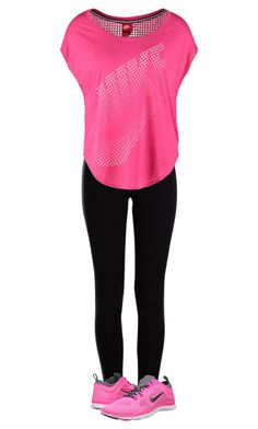 """""""Untitled #61"""" by hjpnosser ❤ liked on Polyvore featuring Pieces and NIKE"""