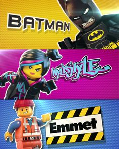 Lego Movie Character Teasers