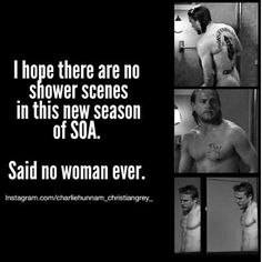 Even though I don't watch the show..... Charlie Hunnam  ...SOA