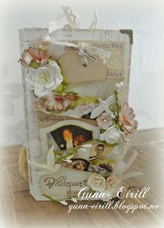 Gunn-Eirill`s Paper Magic: Wedding minialbum/ DT Fussy and Fancy