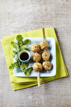 Boulettes de veau à la japonaise | A Vos Assiettes | Recettes de cuisine illustrées