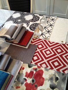 Meredith Heron Design Fabric Scheme #Brampton