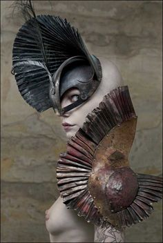 The Metal Couture of Manuel Albarran The Last Goddess Magazine