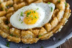 Tater Tot Waffles will Rock your Brunch World - Everyday Good Thinking