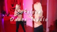 Anastasia Sokolova. Pole dance training in SokolovaDanceStudio.