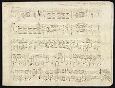 Chopin, Frédéric, 1810-1849. Polonaises, piano, op. 53, A♭ major . Polonaise for piano, op. 53, in A♭ major : autograph manuscript, 1842
