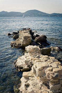 Saint-Tropez, en face, Sainte Maxime, Guervieilles !!!