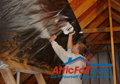 Picture of How To Install Radiant Barrier on Attic Rafters in 5 Steps
